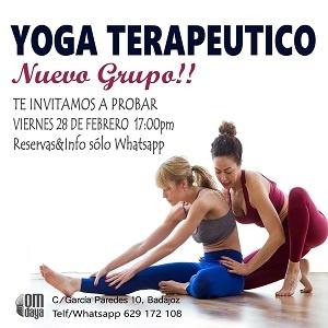 Clase Abierta Yoga Terapéutico