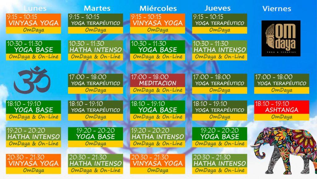 horario yoga badajoz