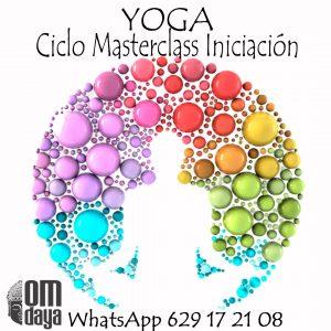 Ciclo MasterClass Iniciación Yoga